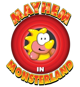 Mayhem Logo - Box