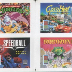 Ah, Imageworks. Turtles? Meh. Speedball 2? Yes please. Cisco Heat and Robozone? We hate you so much (CF13). PHOTO CREDIT: Stephen Stuttard.