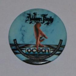...some readers got this Addams Family badge with CF19 instead.