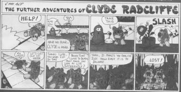 Clyde comic strip - 1