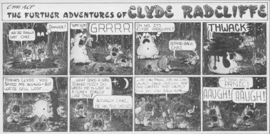 Clyde comic strip - 2