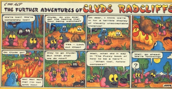 Clyde comic strip - 3