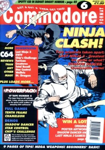 Commodore Format 6 cover
