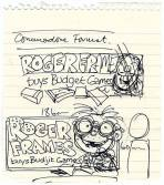 The very first drawings of Roger. Cool, eh?