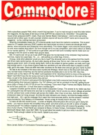 "SUBS LETTER, CF14. November 1991. Rival magazine ZZAP! 64 has closed (for the first time, and we all know the rest). Steve Jarratt pays tribute: ""It gave me my first break. And here I am, five years later. Still, er, working on a C64 magazine."""