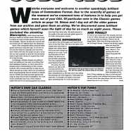 SUBS LETTER, CF42. March 1994. Back in 1991, Steve Jarratt told readers that computer magazines had agreed to limit the number of full games on their covertapes. The idea was to try and protect games sales and the industry as a whole. But whizz forward to this month in 1994, and the C64 world is very different indeed. Andy Hutchinson tells subscribers that the same software houses are approaching CF to try and license them everything they've got for inclusion on the Power Pack.