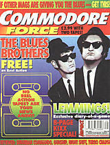 Commodore Force was much better than late era ZZAP! - but riddled with staff problems and no money, it quickly began aping Commodore Format.