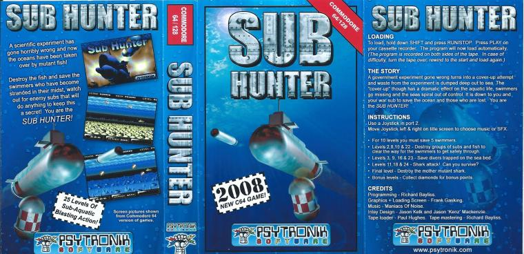 Sub Hunter instructions