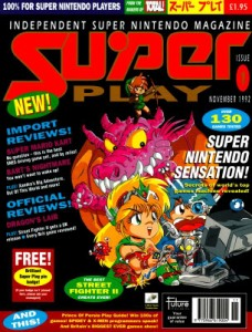 CF's parent company, Future, launched SuperPlay to coincide with the release of the SNES. Thought the C64 games were still coming thick and fast, Christmas 1991 was definitely the end of something. By the holidays of 1992 the videogames scene was very different - the first steps towards the scene we know today.