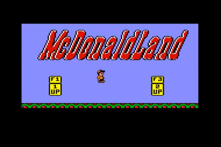 mcdonalds title screen