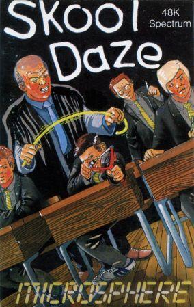 Here's how Microsphere packaged Skool Daze in 1984...