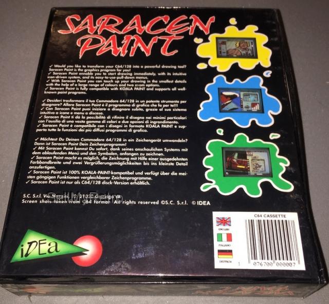 saracen paint box