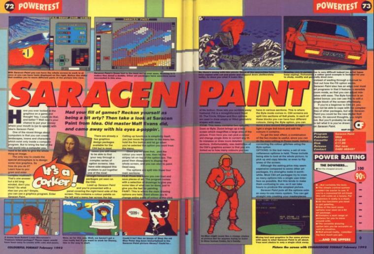 saracen paint review